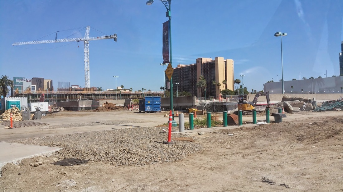 Anaheim Convention Center Expansion Project back in 05/02/2015